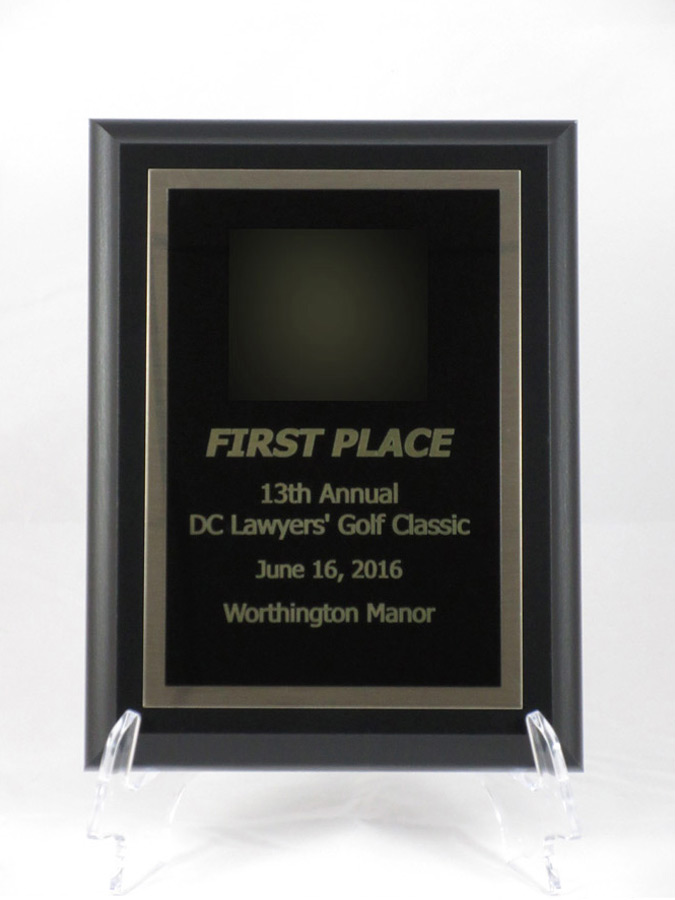 first place award, DC Lawyers' Golf Classic